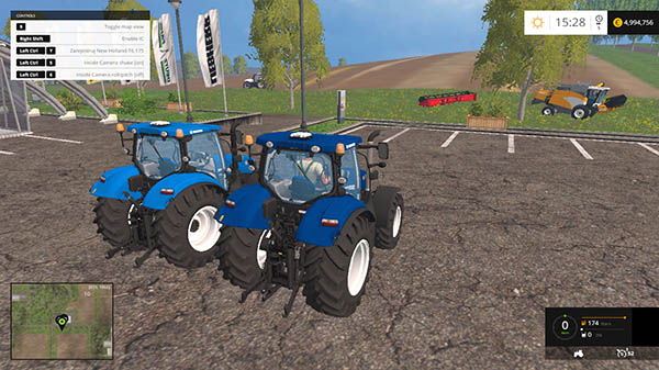 New Holland T6 175 v 2.0