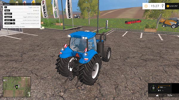 New Holland T8 v 1.1