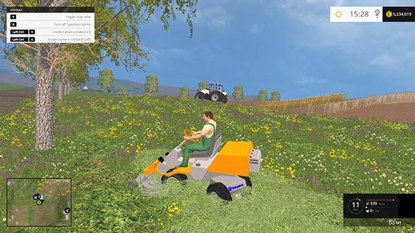 Riding mower Husqvarna v 1.0