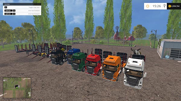 SCANIA 730 FOREST PACK