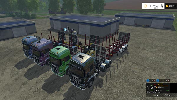 Scania 730 forestry Pack v 1.1