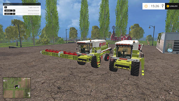 Claas Dominator 208 And 218 v 1.0