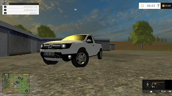 Dacia Duster Pickup 2014 v 1.0