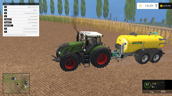 Fendt 927 Vario Washable v 1.0