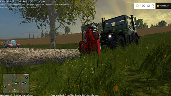 Functional forestry winch - krpan winch v 2.0 Beta