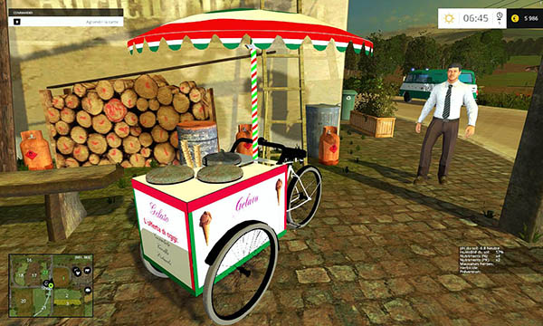 Ice cream tricycle v 1.0