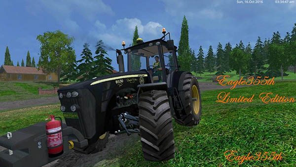 John Deere 8530 v 3.0 Black Limited Edition