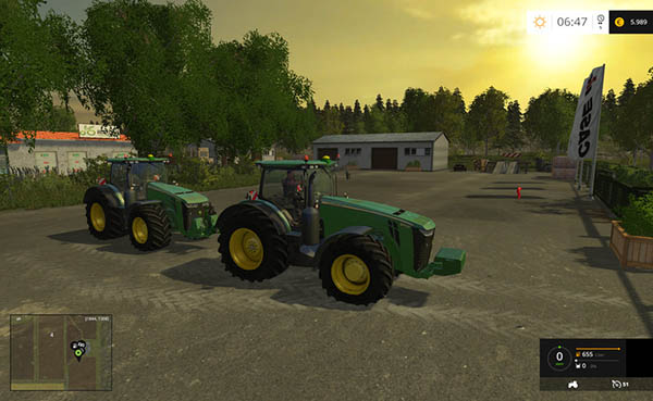 John Deere 8370R Wheels Shader v 2.0