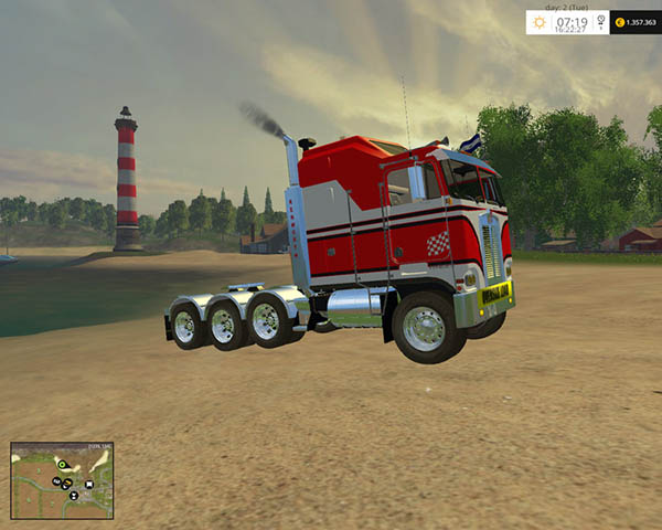 Kenworth K100 Cab Over v 2.1