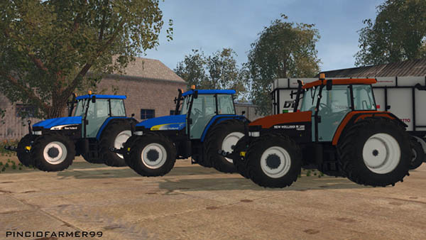 New Holland Pack M160 TM175 TM190 v 2.0
