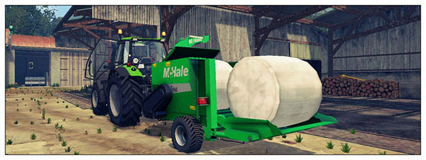 Pack Straw Blower McHale c360 C460 v 1.0