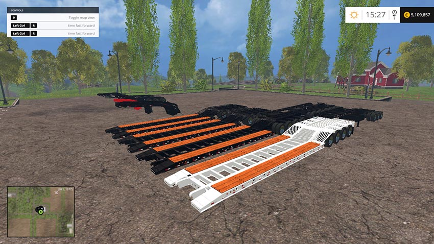 Fontaine Lowboys 11 mods v 1.0