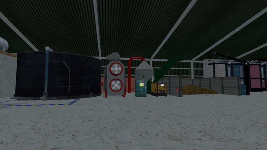 Fruit & Vegatable Storage with Slurry Separator V 1.5