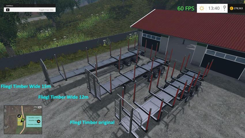 Fliegl Timber Runner Wide V 1.0