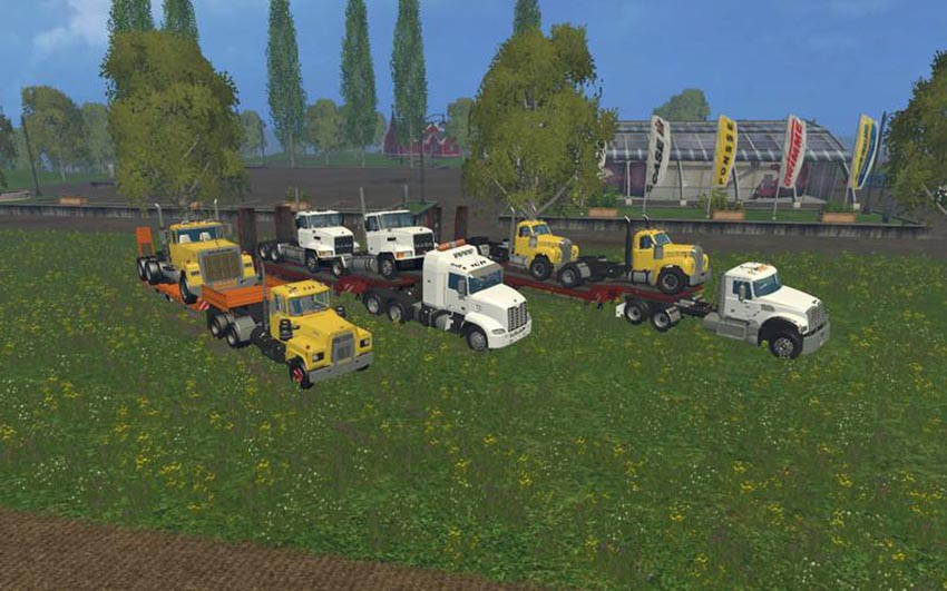 Mack trucks pack v1.0