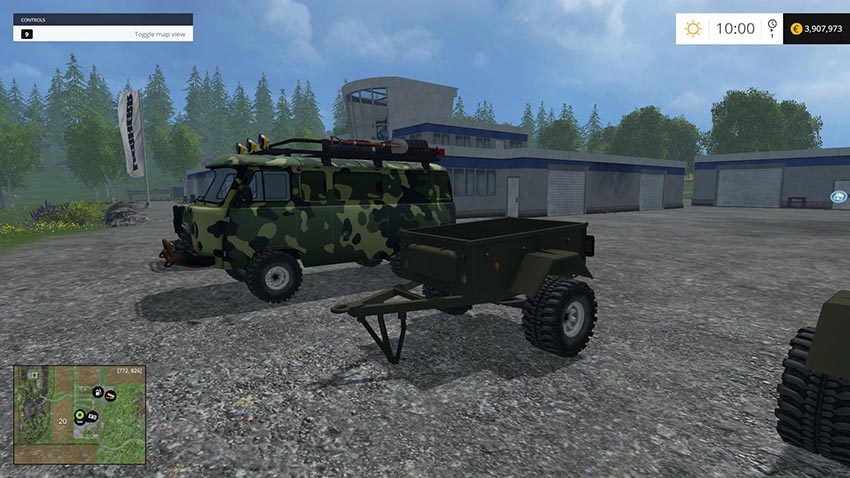 UAZ and Trailers Pack v 1.0