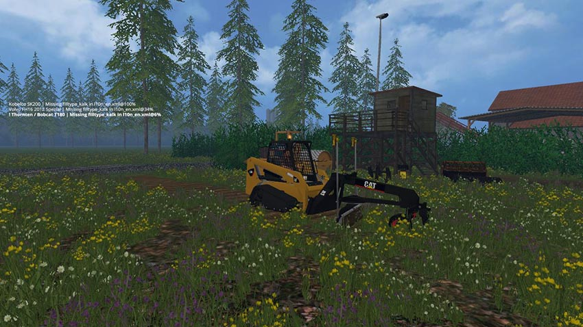 Cat Skidsteer Pack v 1.0