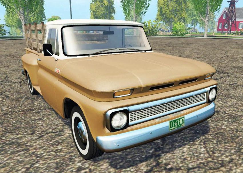 Chevrolet C10 1966 fleetside lwb v 1.0