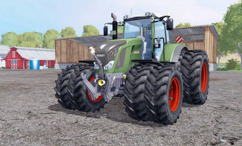 Fendt 828 VARIO TWIN WHEELS v 1.0
