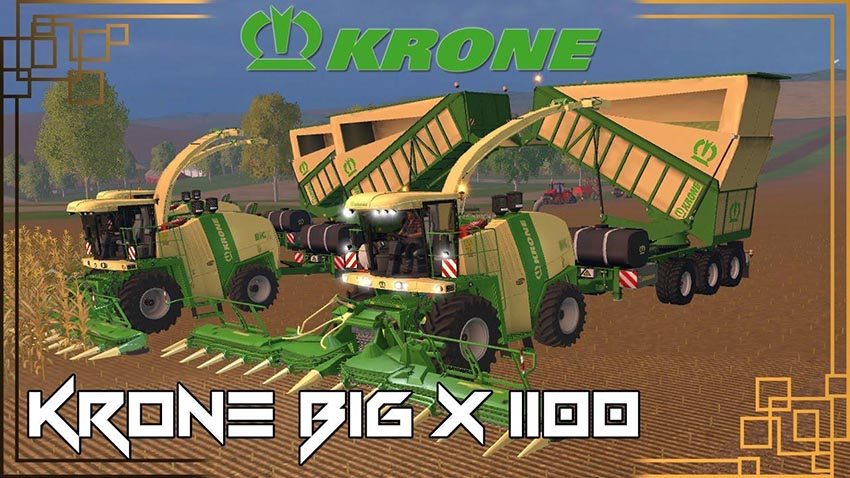 KRONE BIG X 1100 BEAST PACK v 12.10 Beta