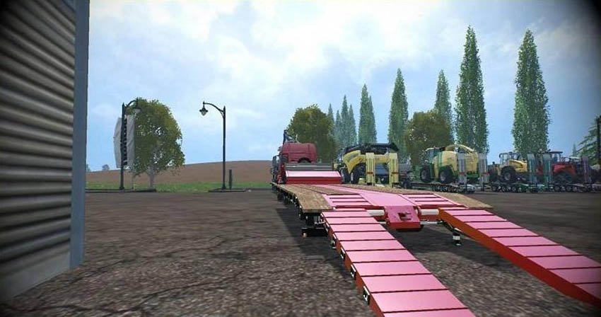 LOW LOADER GALTRAILER SC v 1.0