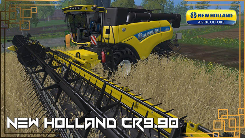 New Holland CR9.90 Yellow v 1.0