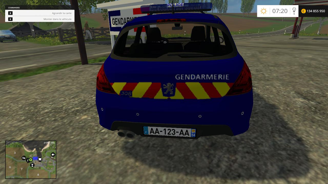 Peugeot 308 Gendarmerie By CYRIL854