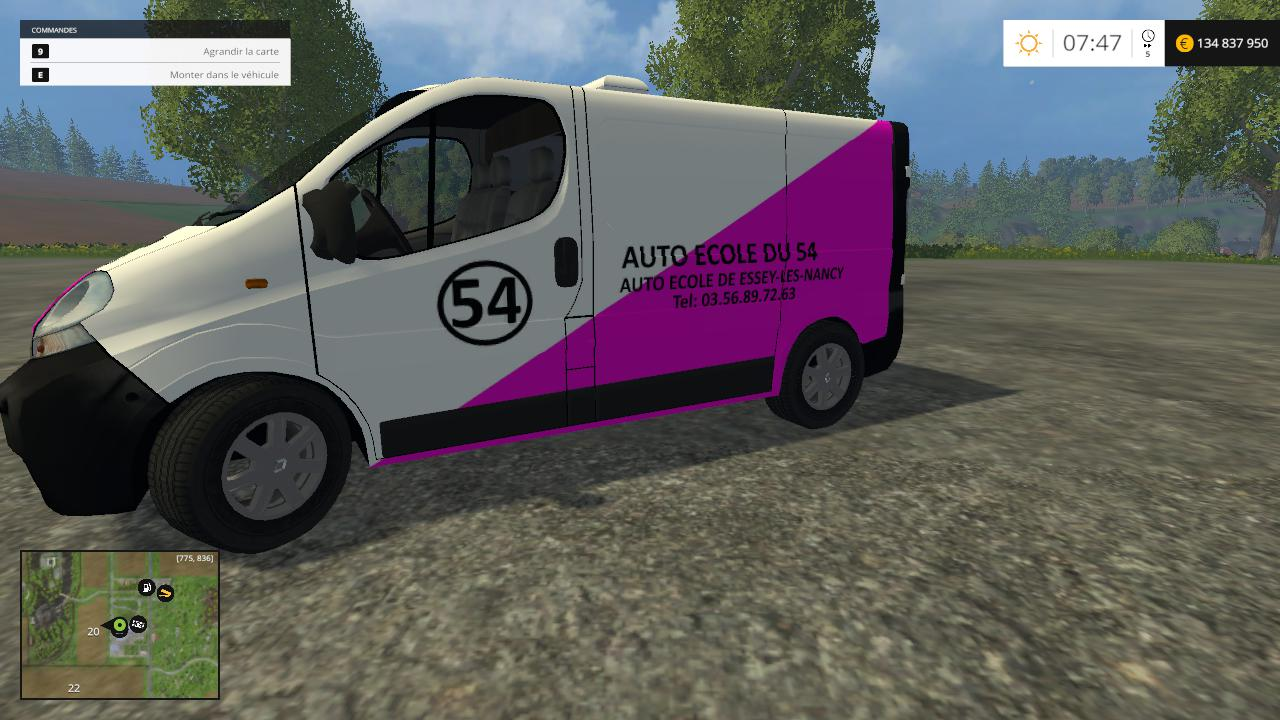 Renault Trafic Auto Ecole du 54 By CYRIL854