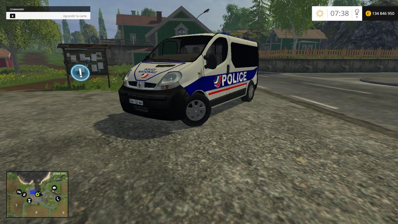 Renault Trafic Police Nationale By CYRIL854