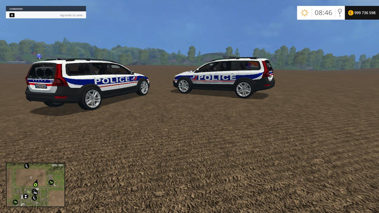 Volvo Police Nationale v1.0