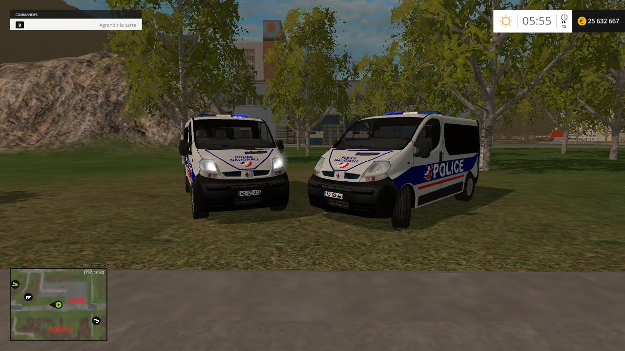 RENAULT TRAFIC POLICE NATIONALE VERSION (CRS) V1.0